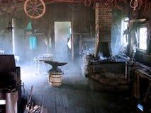 магазин blacksmith Стоковое Фото