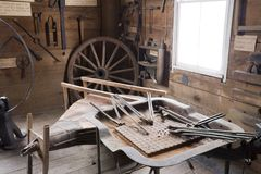 магазин blacksmith стоковые фотографии rf