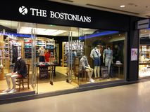 Магазин bostonians стоковое изображение rf