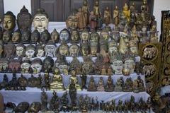 Магазин Buddhas стоковые фотографии rf