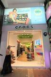 Магазин Crocs в Гонконге Стоковое Фото