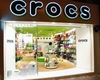 магазин crocs Стоковые Изображения