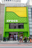 Магазин Crocs Стоковые Фотографии RF
