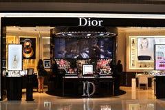 Магазин Dior Стоковое Изображение RF