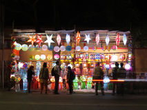 Магазин Diwali Стоковые Фото