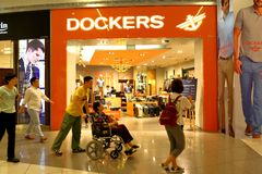 Магазин Dockers Стоковое фото RF
