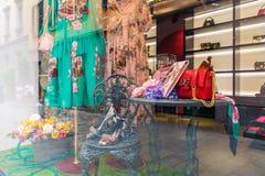 Магазин Dolce & Gabbana в милане, Италии Стоковые Изображения