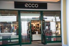 Магазин Ecco в Parndorf, Австрии Стоковое Изображение