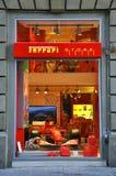 магазин ferrari стоковое изображение rf