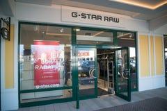 Магазин G-звезды сырцовый в Parndorf, Австрии Стоковая Фотография RF
