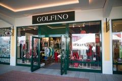 Магазин Golfino в Parndorf, Австрии Стоковая Фотография