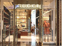 Магазин Gucci Стоковая Фотография
