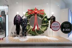 Магазин H&M на Emquatier, Бангкоке, Таиланде, 10-ое ноября 2017 Стоковое Изображение RF