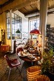 Магазин handmade домашнего оформления на Фритауне Christiania стоковое изображение