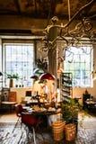 Магазин handmade домашнего оформления на Фритауне Christiania стоковые изображения