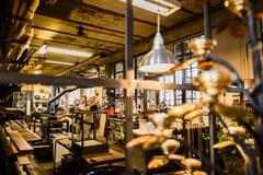 Магазин handmade домашнего оформления на Фритауне Christiania стоковая фотография
