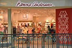 Магазин Hanna Андерсона на короле мола Пруссии в Пенсильвании Стоковые Изображения RF
