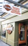 Магазин Harley Davidson в Juneau, Аляске Стоковое Изображение RF