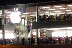 магазин Hong Kong яблока Стоковое Изображение