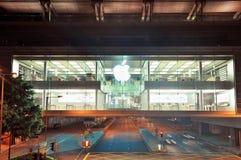 Магазин Hong Kong Apple Стоковые Фото