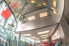 Магазин Hong Kong Apple Стоковое Изображение RF