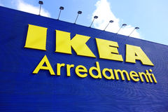 Магазин Ikea Стоковые Фото