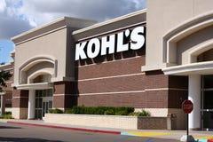 магазин kohl более новый s отдела стоковая фотография rf