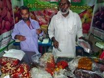 Магазин Kozhikode Halwa стоковые фотографии rf