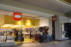 Магазин Lego стоковое фото