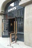 магазин levi s Стоковые Изображения