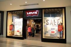 Магазин Levis стоковое изображение
