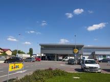 Магазин Lidl в Бухаресте стоковая фотография rf