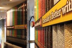 Магазин M&M в Таймс площадь Стоковые Фото