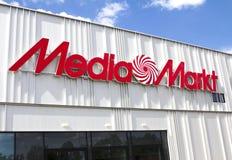 Магазин Markt средств массовой информации Стоковое фото RF
