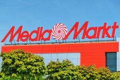 Магазин Markt средств массовой информации Стоковая Фотография RF