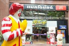 Магазин McDonalds Стоковая Фотография