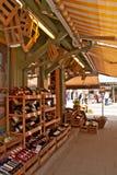 магазин munich markt Германии viktualien вино Стоковые Изображения RF