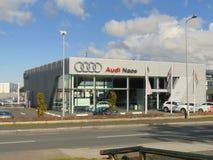 Магазин Naas автомобиля Audi Стоковые Фотографии RF