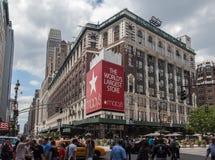 Магазин New York City Macys Стоковые Изображения