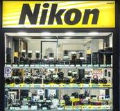 Магазин Nikon стоковое фото