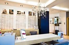 Магазин Optometry Стоковая Фотография