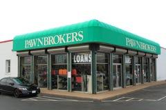 Магазин Pawnbroker Стоковые Фото