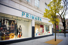 Магазин Primark в Ливерпуле Стоковое фото RF