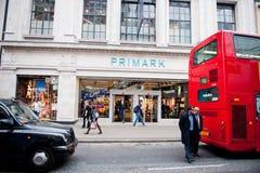 Магазин Primark в Лондоне, Великобритании Стоковая Фотография RF