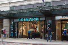 Магазин Primark новый boston Стоковые Изображения RF