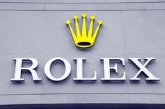 Магазин Rolex стоковые фото
