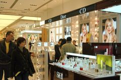 магазин sogo Hong Kong отдела Стоковые Фотографии RF