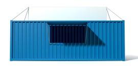 Магазин Spaza контейнера для перевозок иллюстрация штока