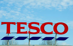 Магазин Tesco в Манчестере, Oldham Стоковое Изображение