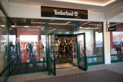 Магазин Timberland в Parndorf, Австрии Стоковая Фотография